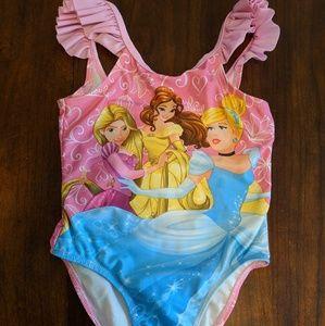 Disney Princess 3T one piece bathing suit